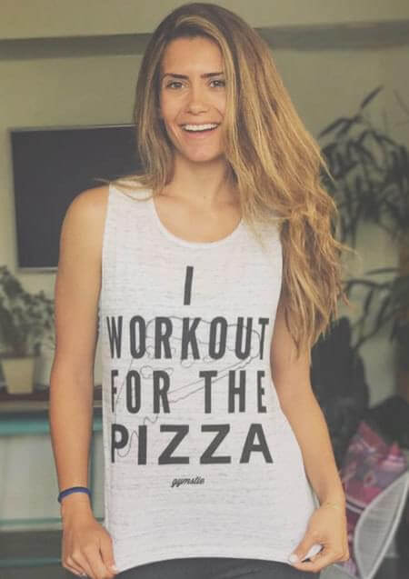 workout for pizza